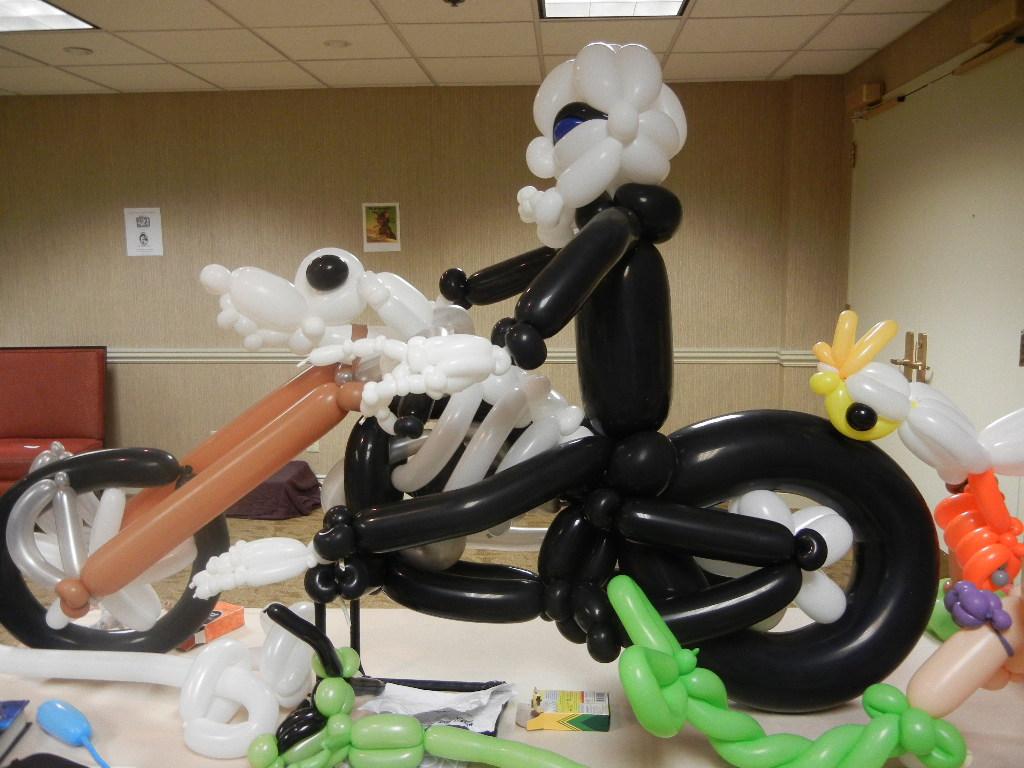 Crazy balloon animals - Or Granny Weatherwax