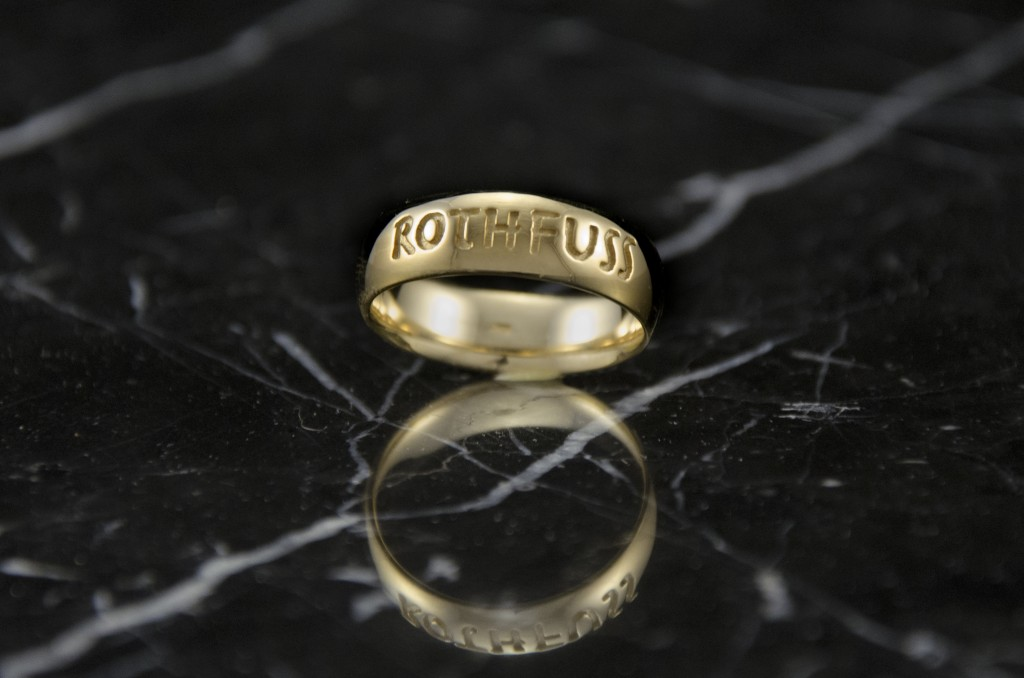 Golden Ticket Ring