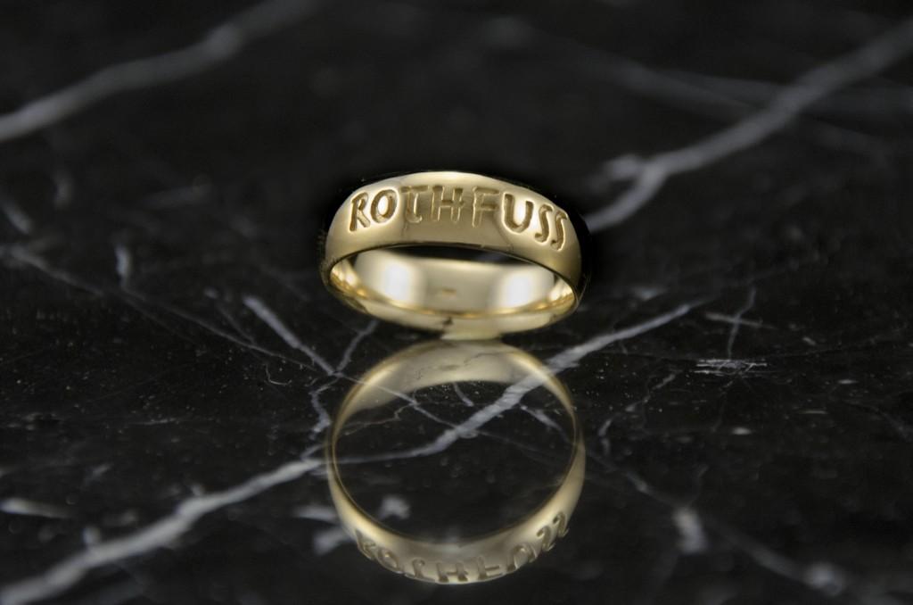 Golden Ticket Ring
