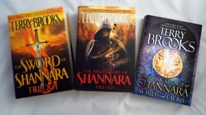 Terry Brooks Shannara hardcovers