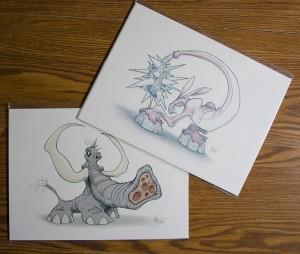 Twisted Bunny & Twisted Elephant