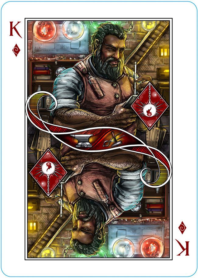 My First Kickstarter – Name of the Wind Playing Cards