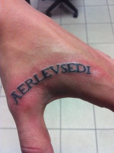 Tattoo - name