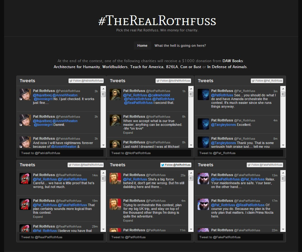 TheRealRothfussUpdate