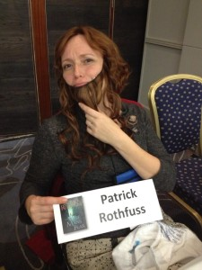 MRK as Patrick Rothfuss
