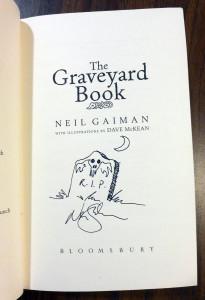 Graveyard Book - Signature