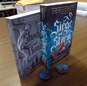Shadow and Bone with Buttons