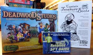 Cheapass - Deadwood - Spy Game - Treasure Boots