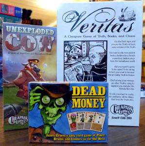 Cheapass - Unexploded - Veritas - Dead Money