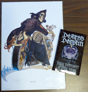 Death Print and Book