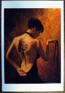 Tattoo lady - full