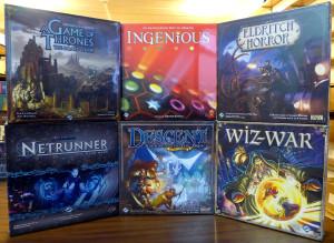 Wall of Games 1 - Fantasy Flight