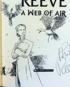 Web of air - doodle