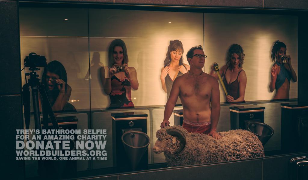 Trey Ratcliff - Bathroom Selfie