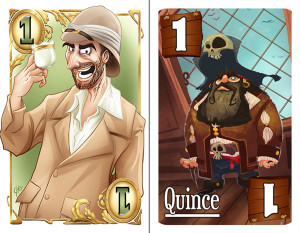 Professor and Pirate Decks