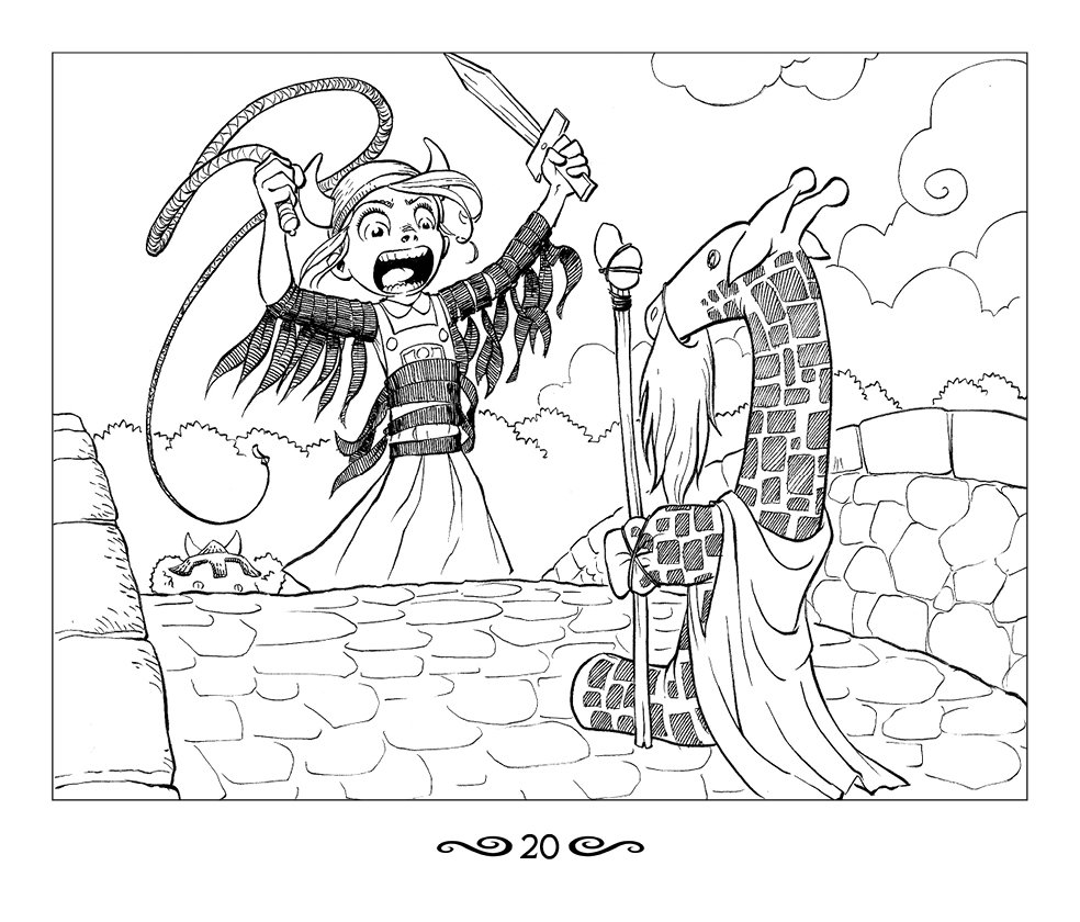Coloring pages gone wrong