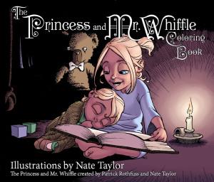 Princess Coloring Book cover