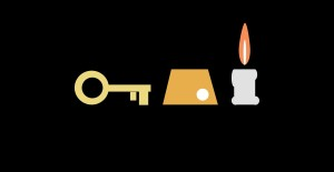 key coin candle copy