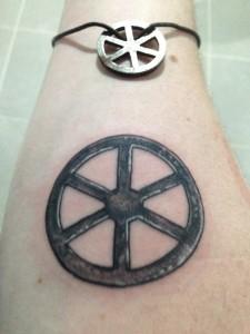 Tattoo iron wheel