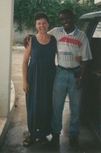 Marge in Haiti