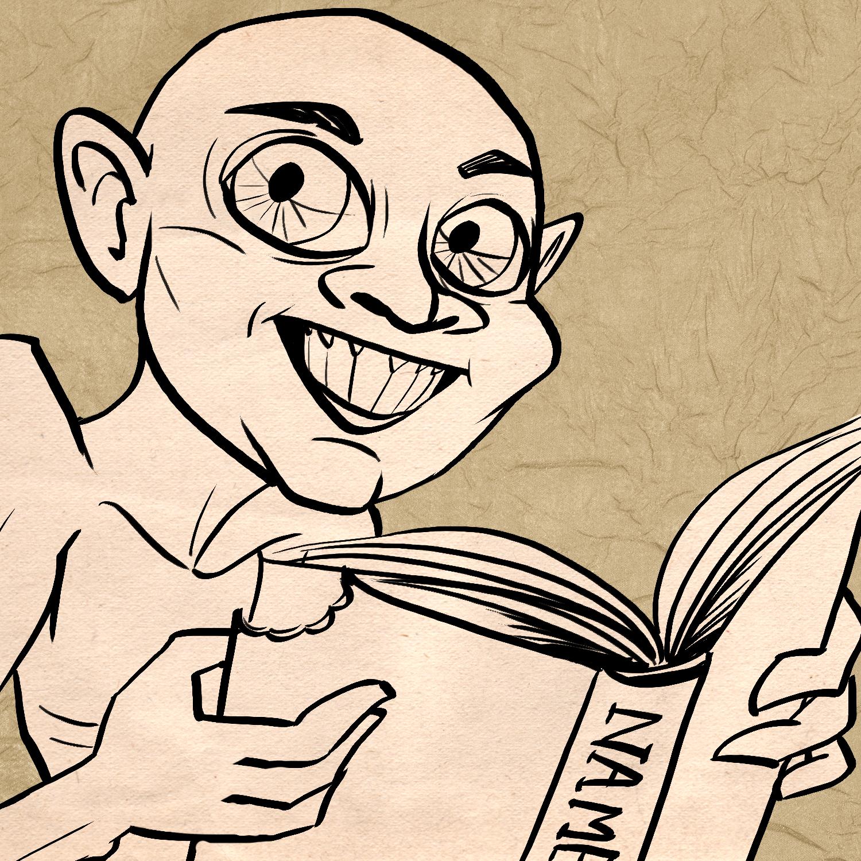 $500,000: Shawn Speakman Reads as Gollum