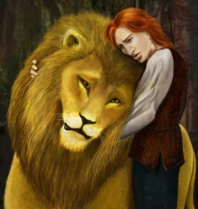 kvothe_vs__aslan_by_rainforestgoddess-d4v5mgz