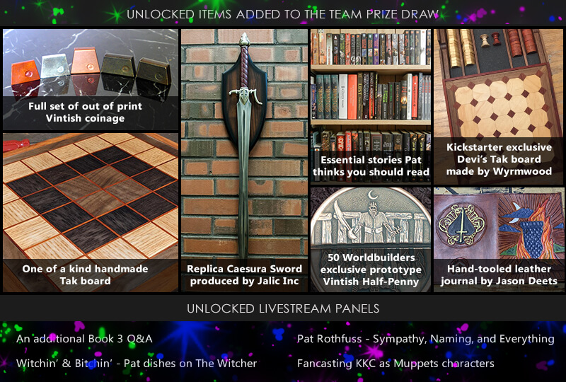 After Party Unlocked Stretch Goals